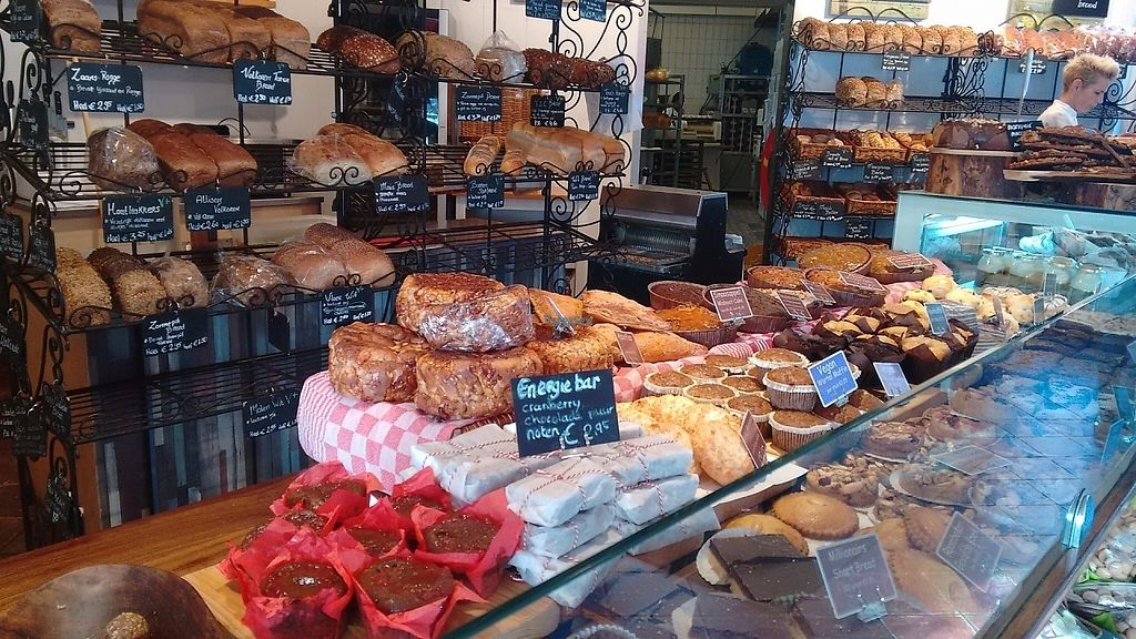 """Photo of Het Zaanse Bakkertje  by <a href=""""/members/profile/StephenEamonn"""">StephenEamonn</a> <br/>Big range, many clearly labelled vegan options <br/> November 16, 2016  - <a href='/contact/abuse/image/70817/190939'>Report</a>"""