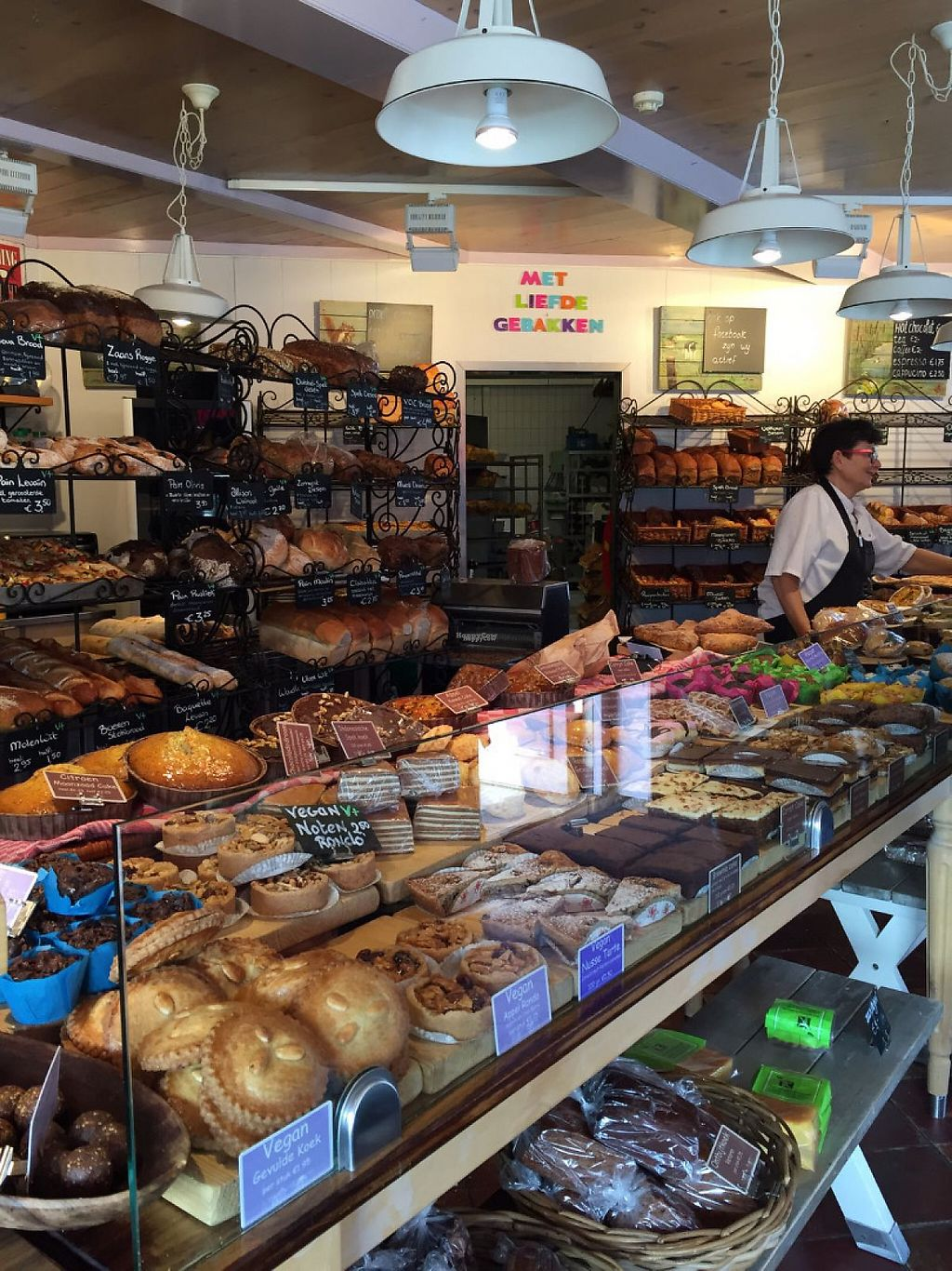 """Photo of Het Zaanse Bakkertje  by <a href=""""/members/profile/Layra"""">Layra</a> <br/>Inside the bakery <br/> March 20, 2017  - <a href='/contact/abuse/image/70817/238680'>Report</a>"""