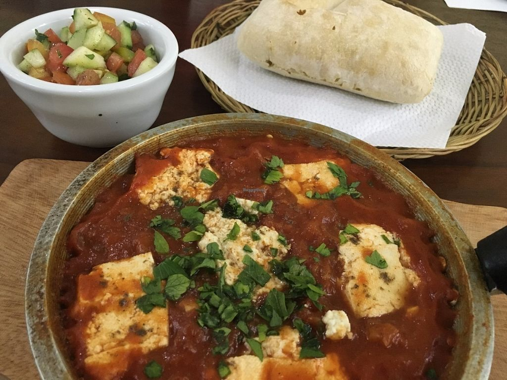 "Photo of Hummus Elijah  by <a href=""/members/profile/Abumaor"">Abumaor</a> <br/>Vegan Shakshuka <br/> July 23, 2016  - <a href='/contact/abuse/image/70821/161721'>Report</a>"