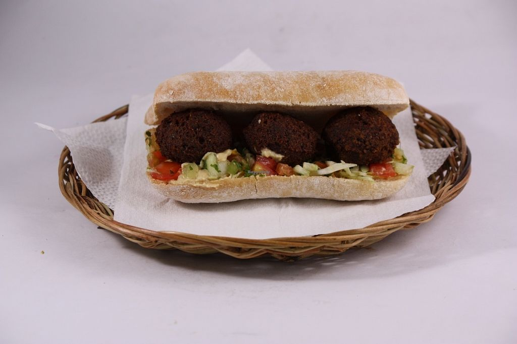 "Photo of Hummus Elijah  by <a href=""/members/profile/Abumaor"">Abumaor</a> <br/>Falafel in Ciabatta Bread <br/> July 24, 2016  - <a href='/contact/abuse/image/70821/161866'>Report</a>"