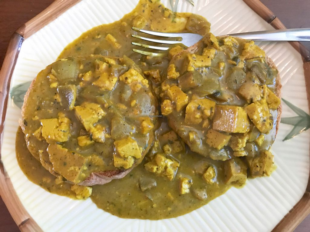 """Photo of Great Grubbing Cafe  by <a href=""""/members/profile/Remerson13"""">Remerson13</a> <br/>Vegan Biscuits and Gravy <br/> May 13, 2017  - <a href='/contact/abuse/image/70893/258508'>Report</a>"""