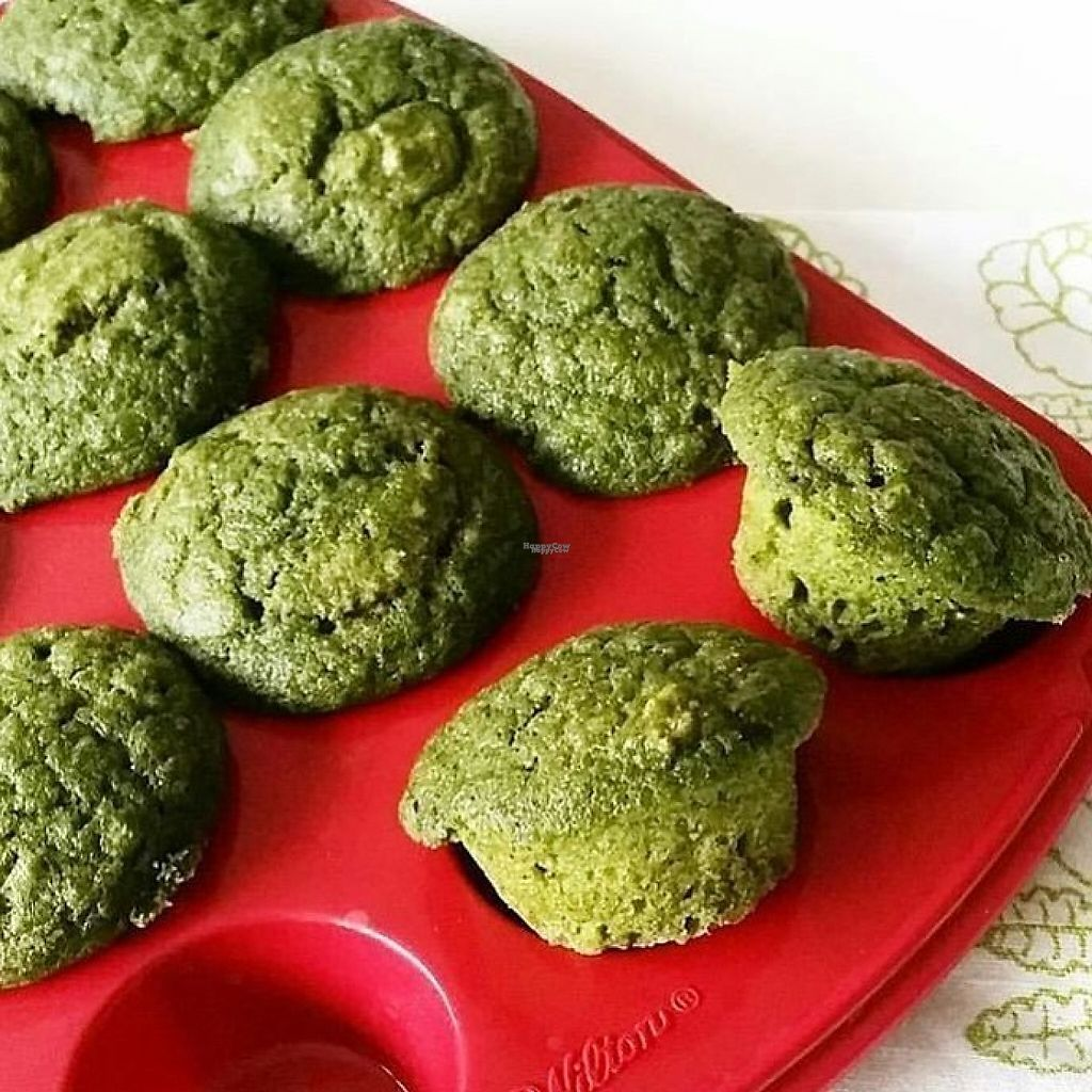 """Photo of Morton Grove Farmers' Market  by <a href=""""/members/profile/community"""">community</a> <br/>spinach muffins  <br/> March 5, 2017  - <a href='/contact/abuse/image/70932/233222'>Report</a>"""