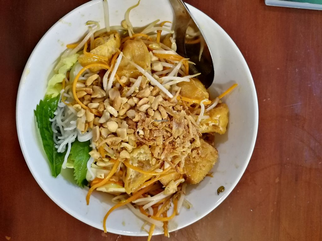 "Photo of Noodle & Roll  by <a href=""/members/profile/VolleyMacaroni"">VolleyMacaroni</a> <br/>Noodles with Tofu, Stir-Fry Vegetables and Crushed Peanuts with Sprouts <br/> April 1, 2018  - <a href='/contact/abuse/image/70933/379289'>Report</a>"
