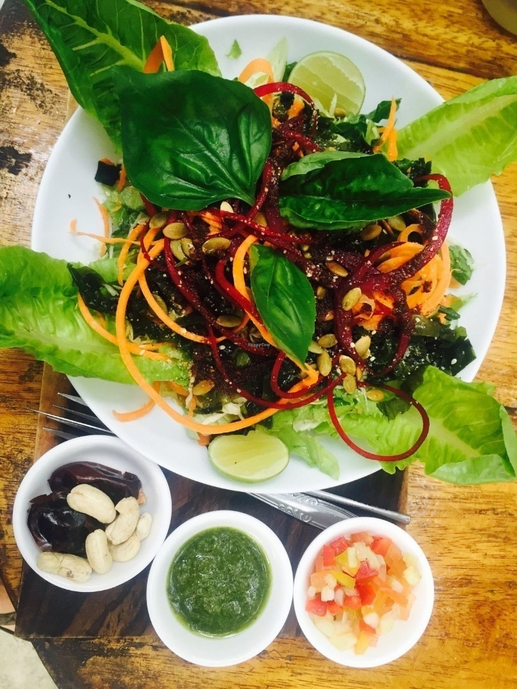 """Photo of Pachamama Organic  by <a href=""""/members/profile/rodgo"""">rodgo</a> <br/>Vegan salad <br/> July 17, 2016  - <a href='/contact/abuse/image/70951/160378'>Report</a>"""