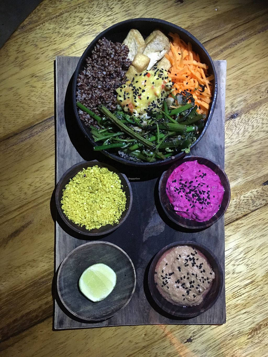 """Photo of Pachamama Organic  by <a href=""""/members/profile/IlonaGoossens"""">IlonaGoossens</a> <br/>Best meal on Gili!  <br/> April 21, 2018  - <a href='/contact/abuse/image/70951/388934'>Report</a>"""