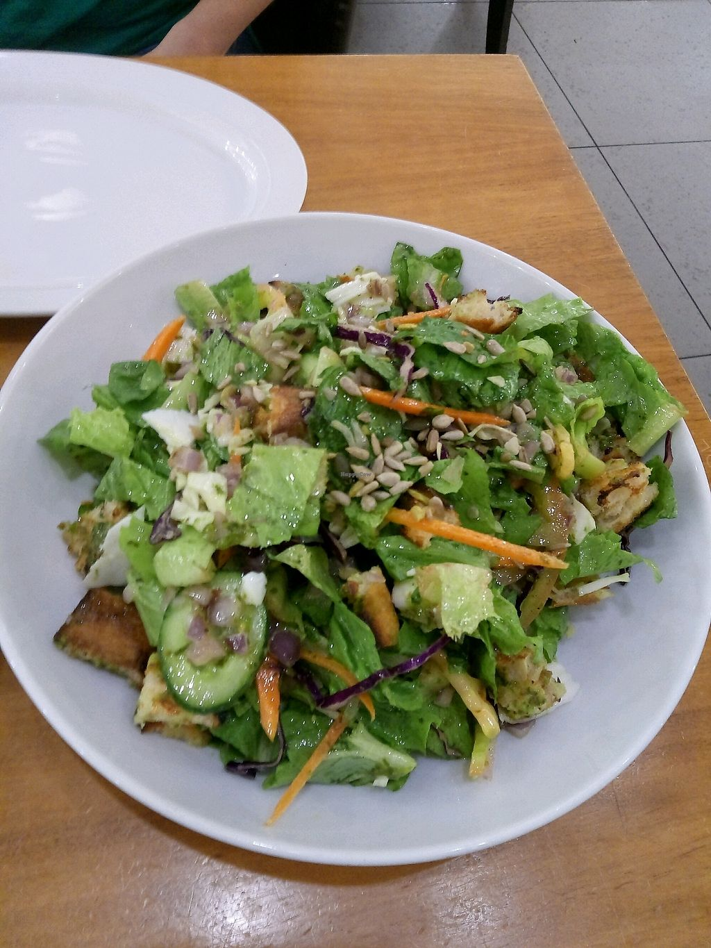 "Photo of Cafe Greg  by <a href=""/members/profile/Babai"">Babai</a> <br/>sweet potato and vegan cheese salad <br/> November 1, 2017  - <a href='/contact/abuse/image/70960/320916'>Report</a>"