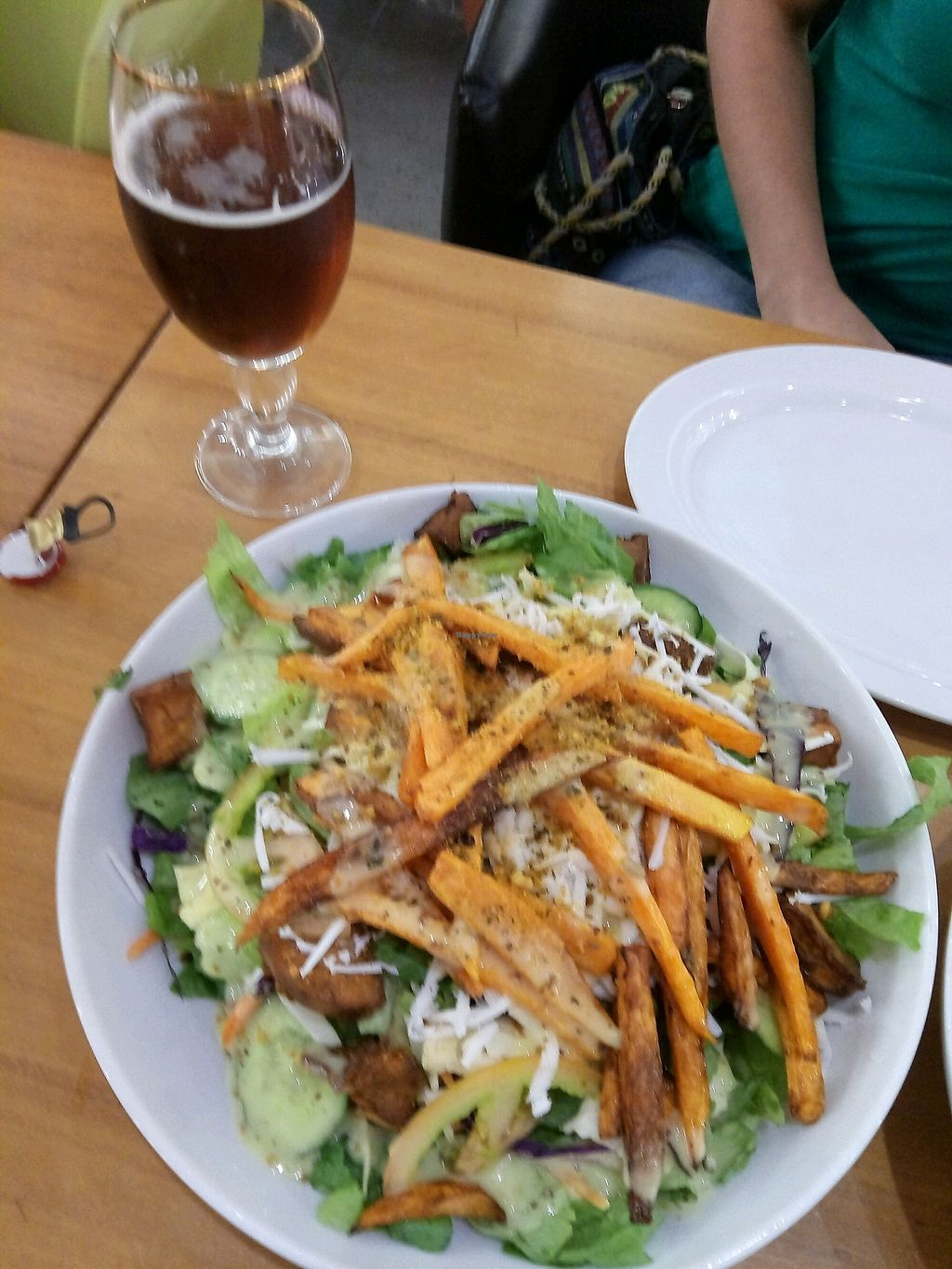 "Photo of Cafe Greg  by <a href=""/members/profile/Babai"">Babai</a> <br/>fattoush salad <br/> November 1, 2017  - <a href='/contact/abuse/image/70960/320918'>Report</a>"