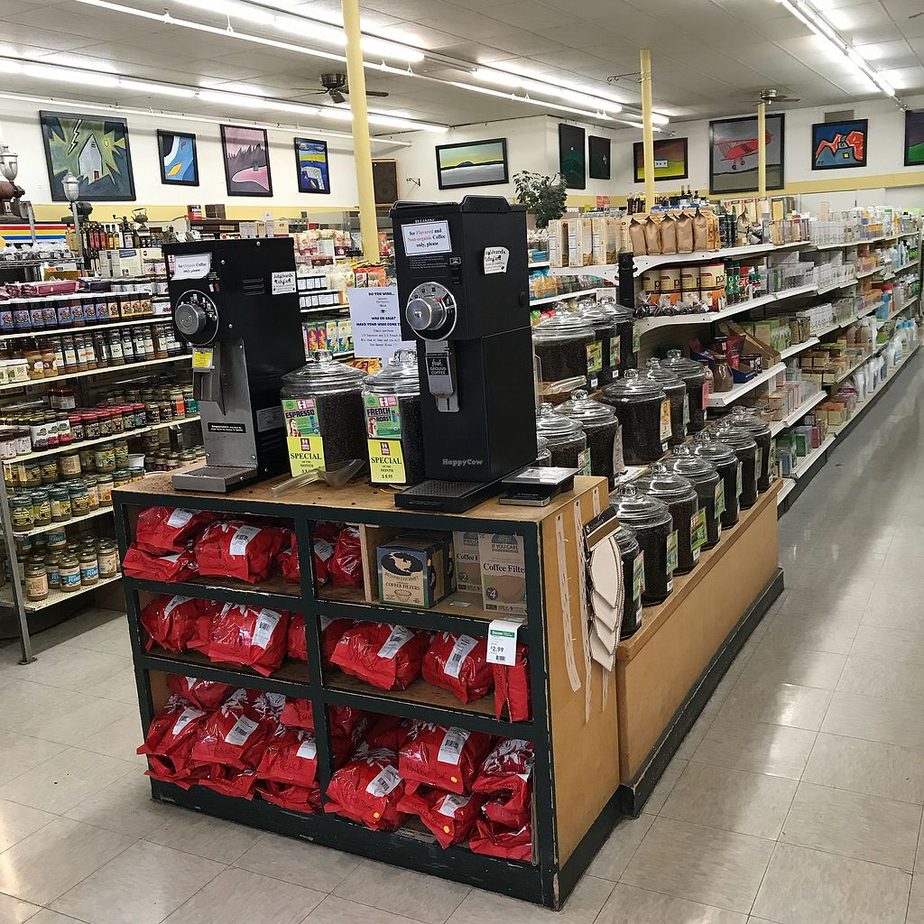 """Photo of John Edwards Whole Foods & Wine Cellar Art Gallery  by <a href=""""/members/profile/Sarah%20P"""">Sarah P</a> <br/>Aisles of food <br/> April 18, 2018  - <a href='/contact/abuse/image/70961/387826'>Report</a>"""