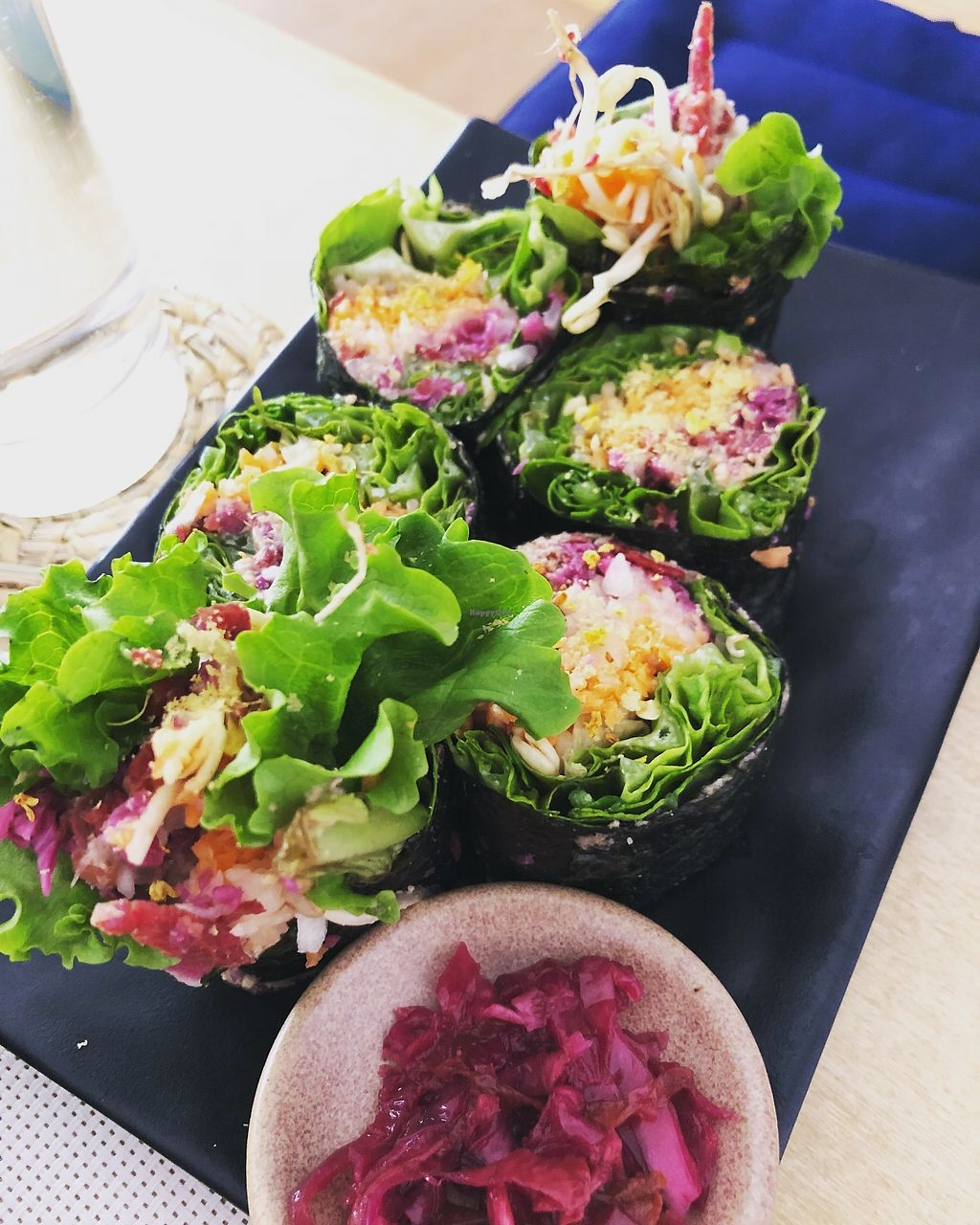 """Photo of Bliss Pure Foods  by <a href=""""/members/profile/KathrynSunantha"""">KathrynSunantha</a> <br/>Raw vegan sushi <br/> March 5, 2018  - <a href='/contact/abuse/image/70969/367029'>Report</a>"""