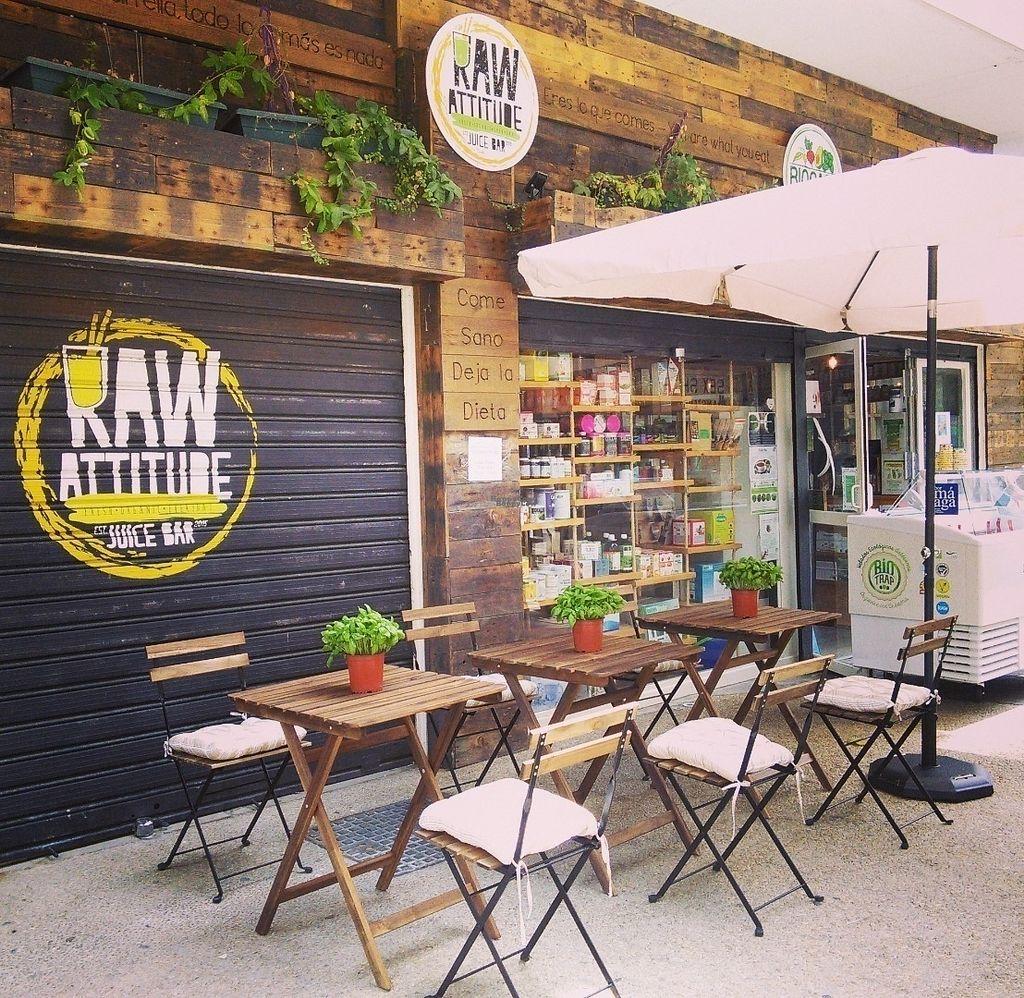 "Photo of RawAttitude Vegan Café  by <a href=""/members/profile/Vanda%20V"">Vanda V</a> <br/>Vegan Organic food in Malaga Soho ? <br/> September 30, 2016  - <a href='/contact/abuse/image/70971/178734'>Report</a>"