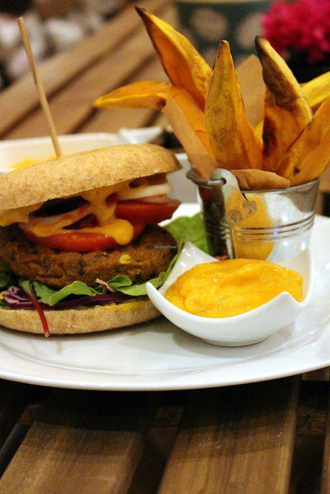 "Photo of RawAttitude Vegan Café  by <a href=""/members/profile/YogaguruChef"">YogaguruChef</a> <br/>vegan home made burgers <br/> October 27, 2017  - <a href='/contact/abuse/image/70971/319266'>Report</a>"