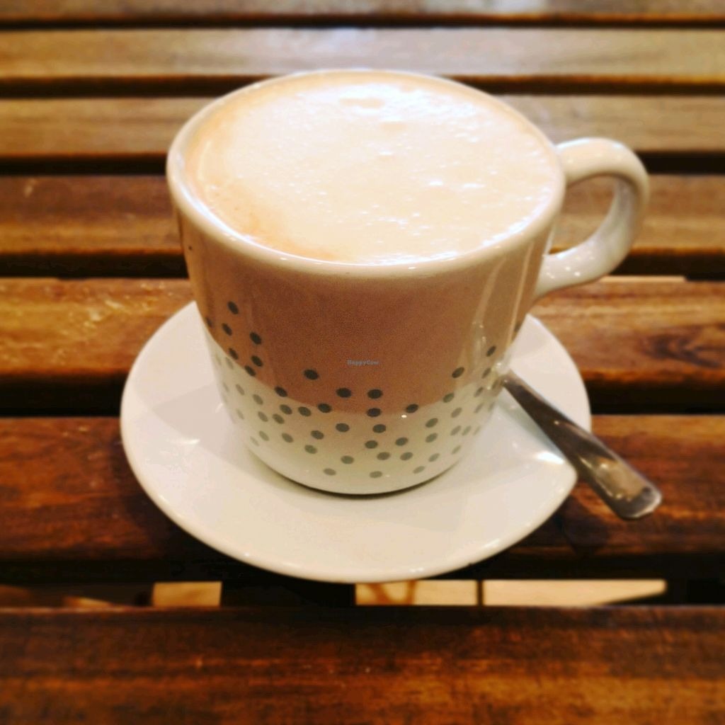 """Photo of RawAttitude Vegan Café  by <a href=""""/members/profile/AmieZing"""">AmieZing</a> <br/>lovely coffee too!  <br/> April 6, 2018  - <a href='/contact/abuse/image/70971/381483'>Report</a>"""