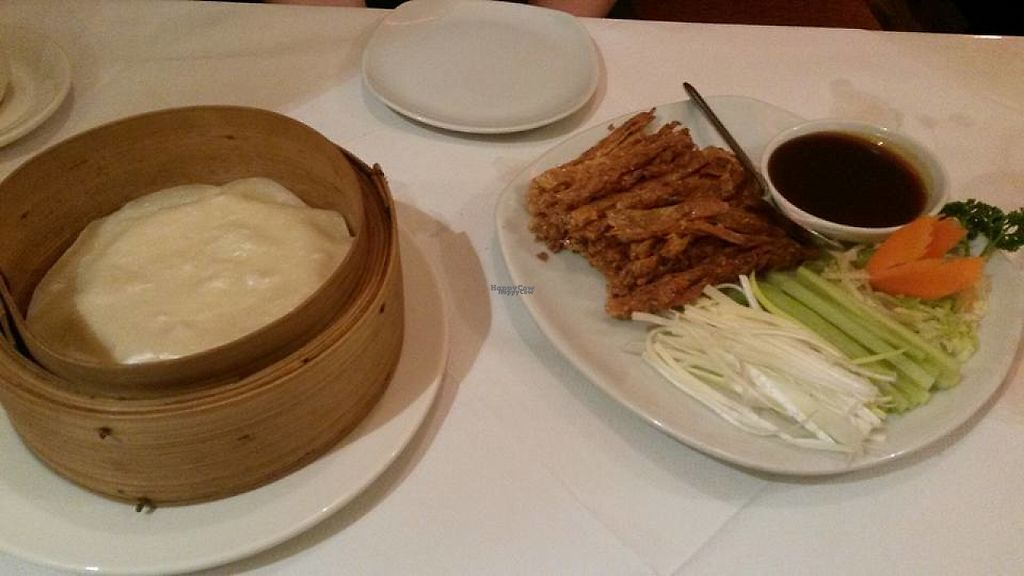 "Photo of Red Dragon  by <a href=""/members/profile/deadpledge"">deadpledge</a> <br/>Vegan crispy duck with pancakes <br/> February 25, 2017  - <a href='/contact/abuse/image/70974/230293'>Report</a>"