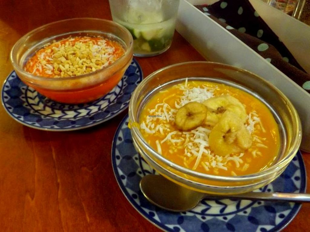 """Photo of Shamaim  by <a href=""""/members/profile/Gally"""">Gally</a> <br/>Two of their traditional pudding-like dessert flavours <br/> March 19, 2016  - <a href='/contact/abuse/image/70987/140646'>Report</a>"""