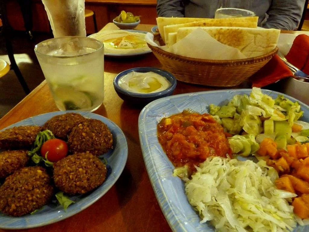 """Photo of Shamaim  by <a href=""""/members/profile/Gally"""">Gally</a> <br/>Falafel set plus a gin lime <br/> March 19, 2016  - <a href='/contact/abuse/image/70987/140651'>Report</a>"""