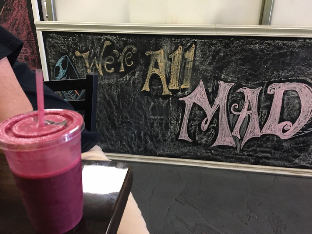 """Photo of Splurge Juice Bar and Cafe  by <a href=""""/members/profile/X10"""">X10</a> <br/>the Emmy smoothie <br/> May 7, 2017  - <a href='/contact/abuse/image/70997/256890'>Report</a>"""