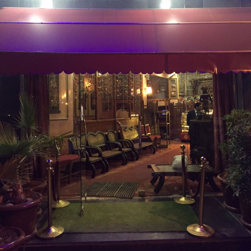 """Photo of Maharaja  by <a href=""""/members/profile/Idriss"""">Idriss</a> <br/>Entrance to the restaurant <br/> March 20, 2016  - <a href='/contact/abuse/image/71004/140656'>Report</a>"""