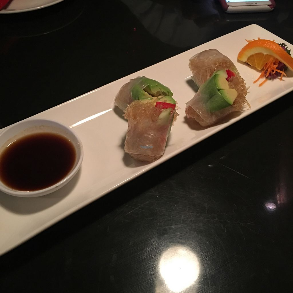 """Photo of Bahn Thai  by <a href=""""/members/profile/Cyandray"""">Cyandray</a> <br/>avocado summer rolls  <br/> April 6, 2017  - <a href='/contact/abuse/image/71006/245214'>Report</a>"""