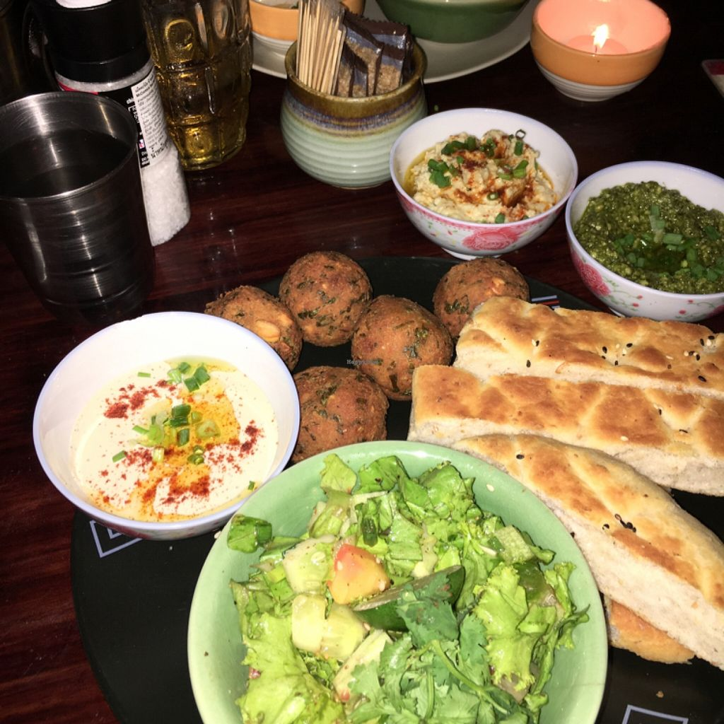 """Photo of Taboon  by <a href=""""/members/profile/SeitanSeitanSeitan"""">SeitanSeitanSeitan</a> <br/>Falafel plate <br/> May 12, 2016  - <a href='/contact/abuse/image/71037/148714'>Report</a>"""