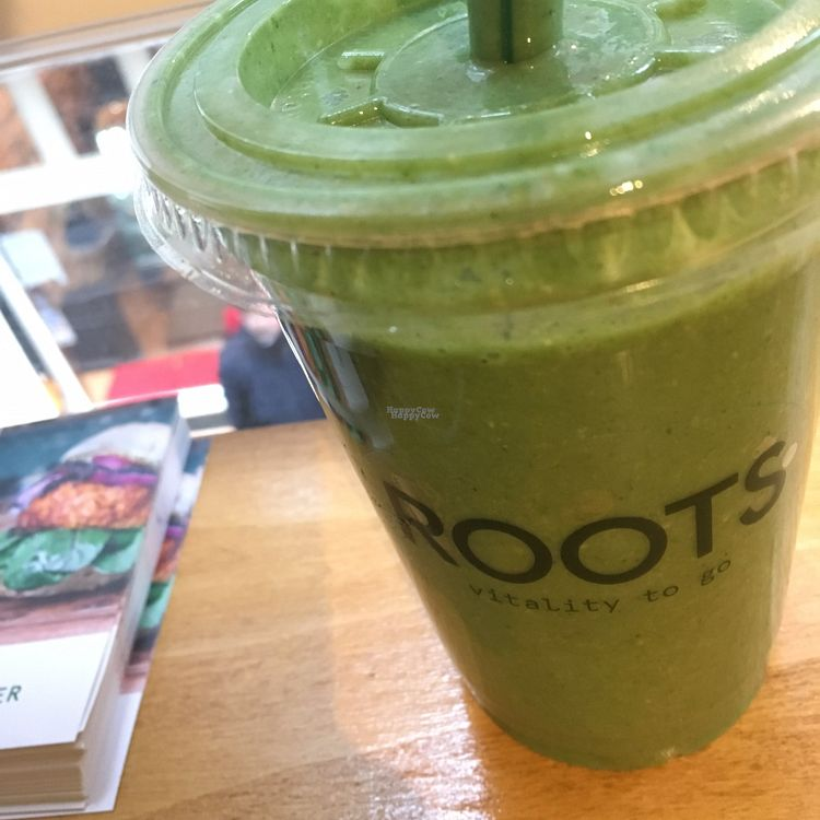 """Photo of CLOSED: ROOTS  - Heisteeg  by <a href=""""/members/profile/KousKitchen"""">KousKitchen</a> <br/>green smoothie  <br/> October 27, 2016  - <a href='/contact/abuse/image/71038/184635'>Report</a>"""