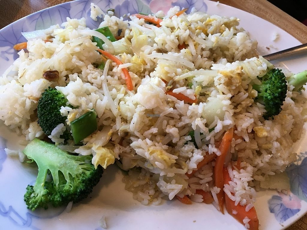 """Photo of China Garden  by <a href=""""/members/profile/sophiefrenchfry"""">sophiefrenchfry</a> <br/>Vegetable Fried Rice (server asks if you want it with or without egg) <br/> March 19, 2017  - <a href='/contact/abuse/image/71052/238315'>Report</a>"""