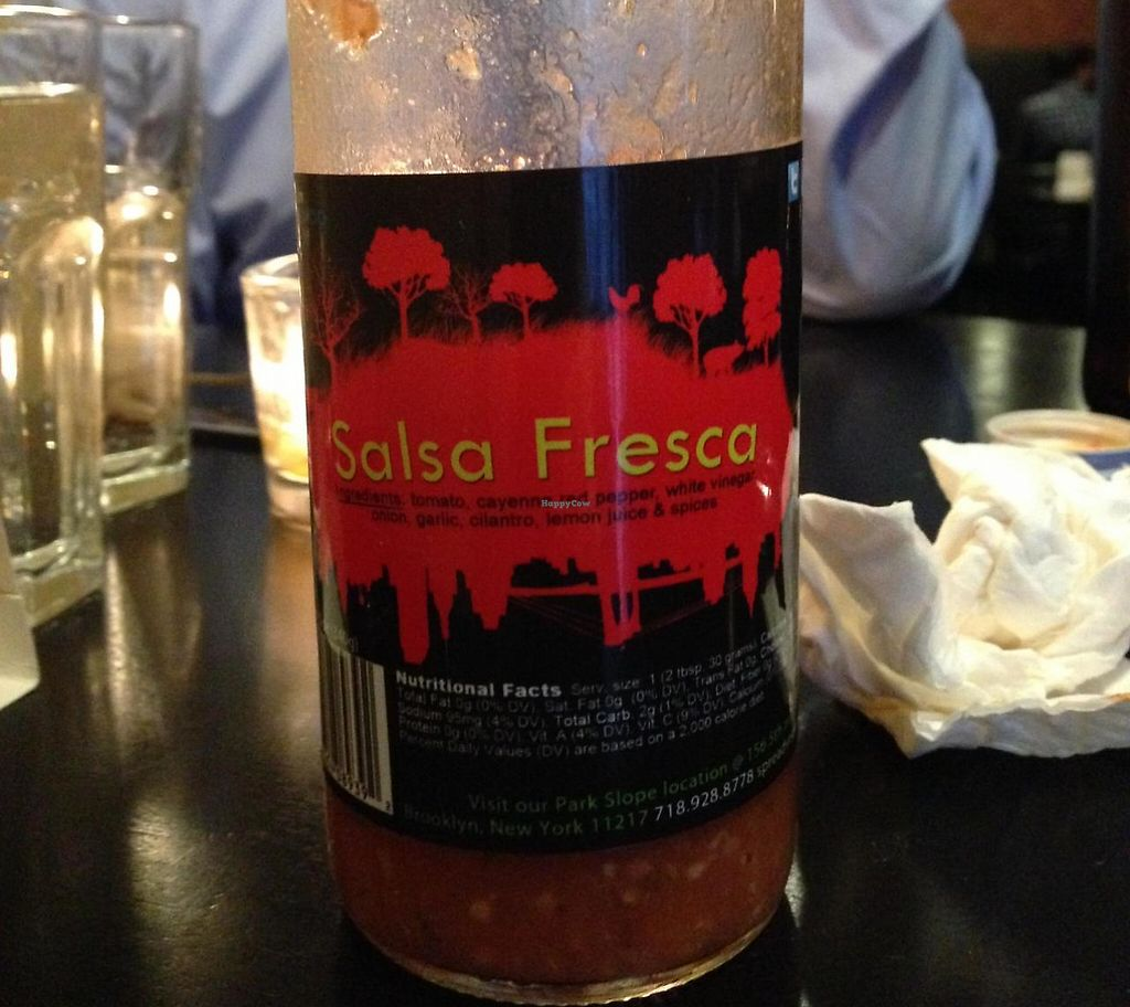 """Photo of The V Spot Cafe  by <a href=""""/members/profile/slo0go"""">slo0go</a> <br/>Their salsa, made in house! <br/> May 31, 2014  - <a href='/contact/abuse/image/7108/209462'>Report</a>"""