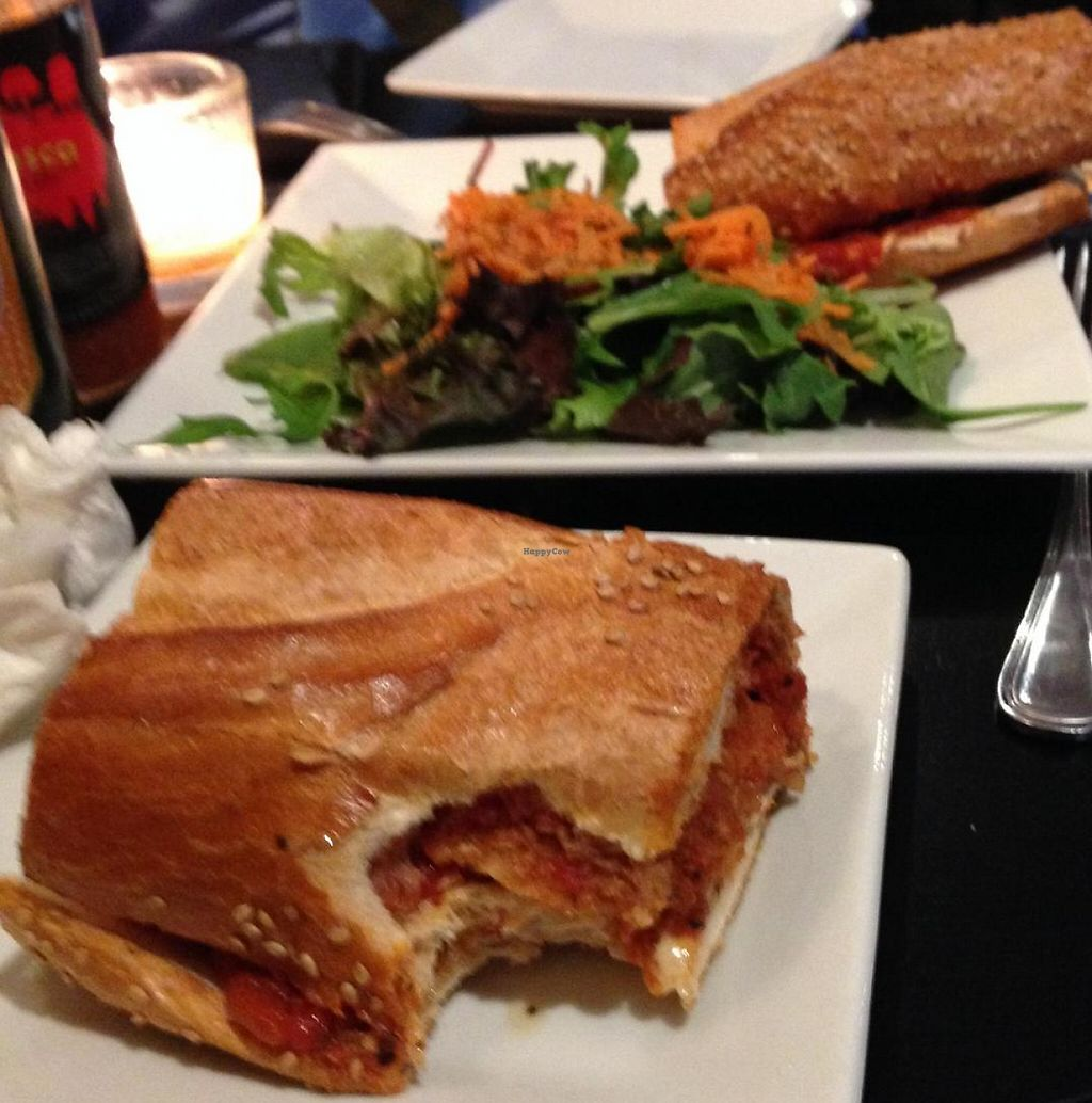 """Photo of The V Spot Cafe  by <a href=""""/members/profile/slo0go"""">slo0go</a> <br/>Chicken parm sandwich <br/> May 31, 2014  - <a href='/contact/abuse/image/7108/209464'>Report</a>"""