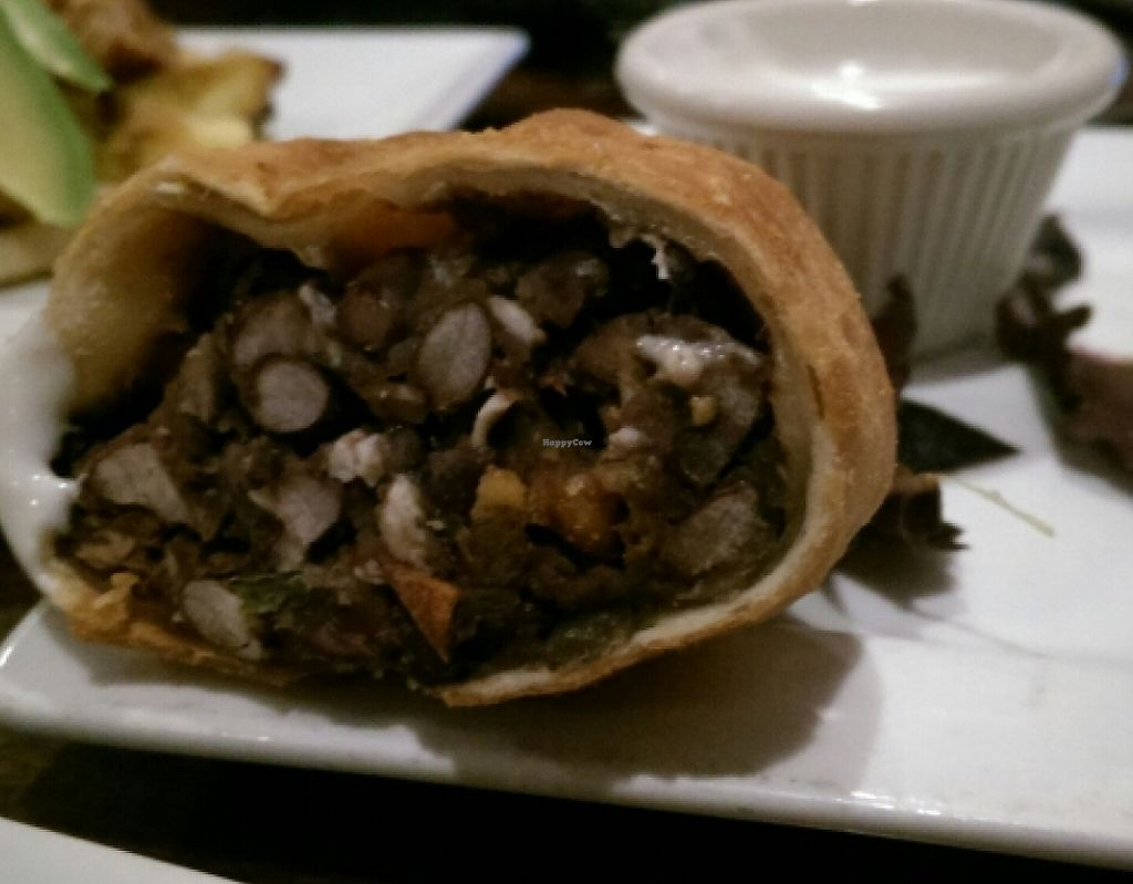 """Photo of The V Spot Cafe  by <a href=""""/members/profile/Mene"""">Mene</a> <br/>Black bean empanadas <br/> April 12, 2016  - <a href='/contact/abuse/image/7108/209465'>Report</a>"""