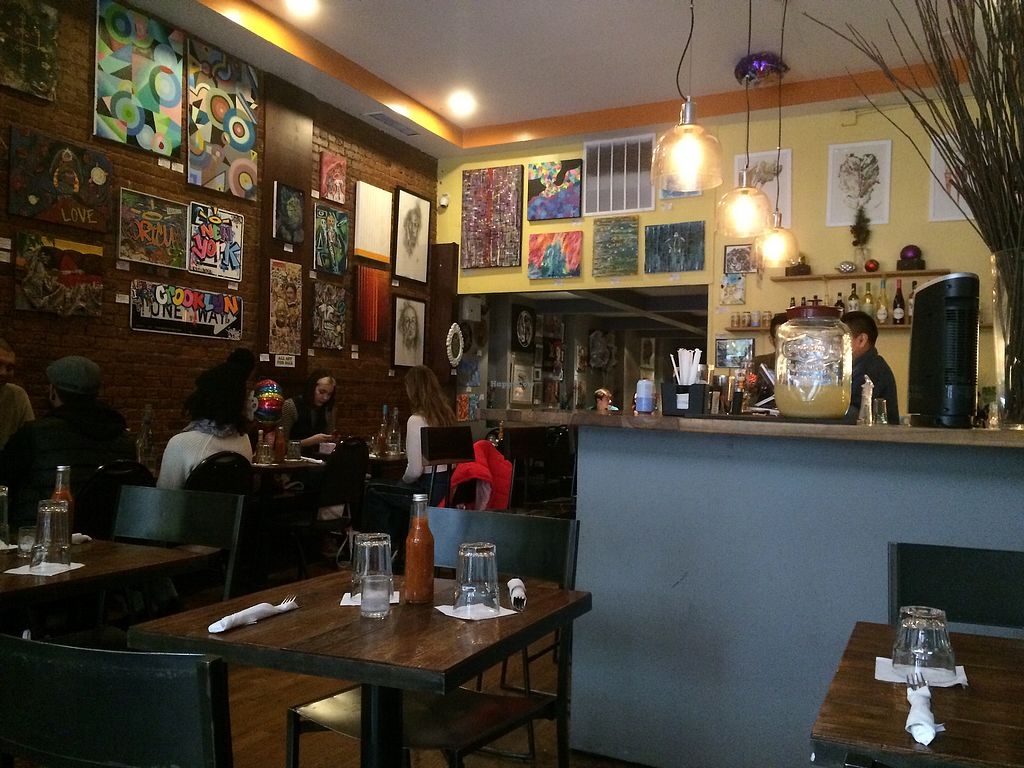 """Photo of The V Spot Cafe  by <a href=""""/members/profile/fruitiJulie"""">fruitiJulie</a> <br/>Inside  <br/> January 1, 2018  - <a href='/contact/abuse/image/7108/341570'>Report</a>"""