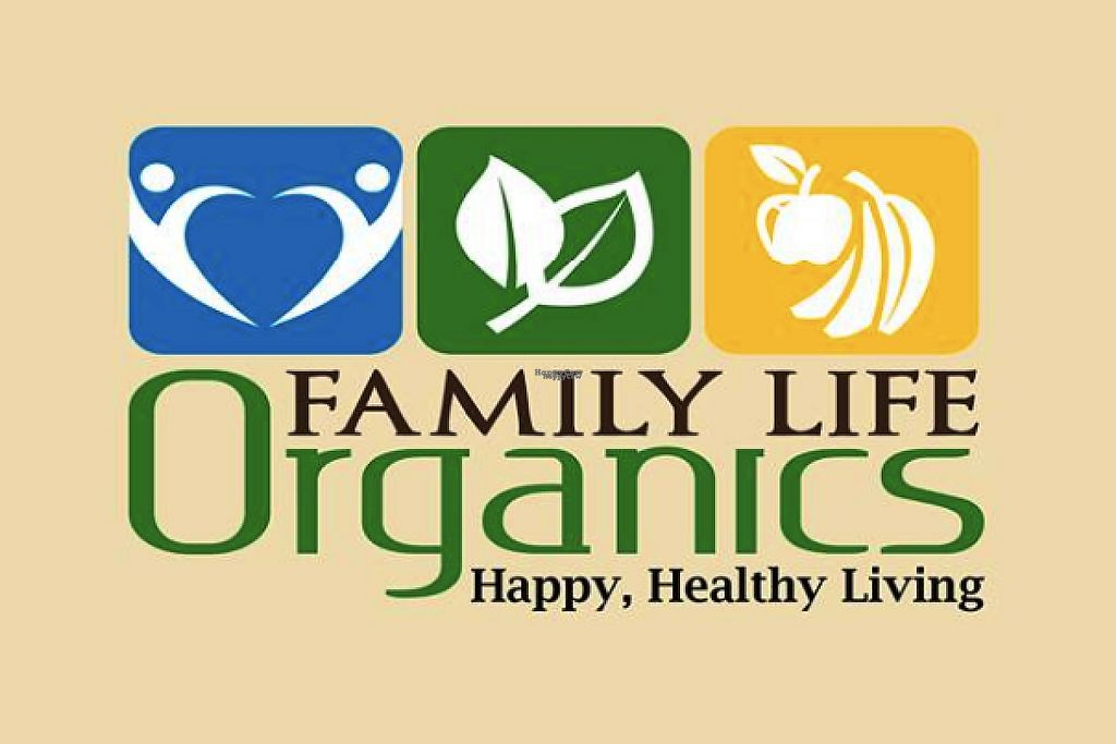 "Photo of Family Life Organics  by <a href=""/members/profile/community"">community</a> <br/>logo  <br/> March 3, 2017  - <a href='/contact/abuse/image/71105/231988'>Report</a>"