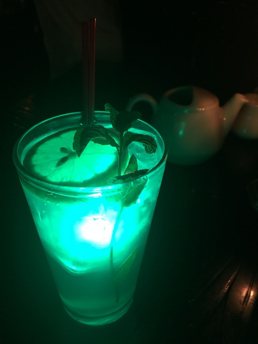 "Photo of Disneyland - Blue Bayou  by <a href=""/members/profile/vegansuncake"">vegansuncake</a> <br/>Request a fun souvenir glow cube in your beverage <br/> January 13, 2018  - <a href='/contact/abuse/image/71110/345964'>Report</a>"
