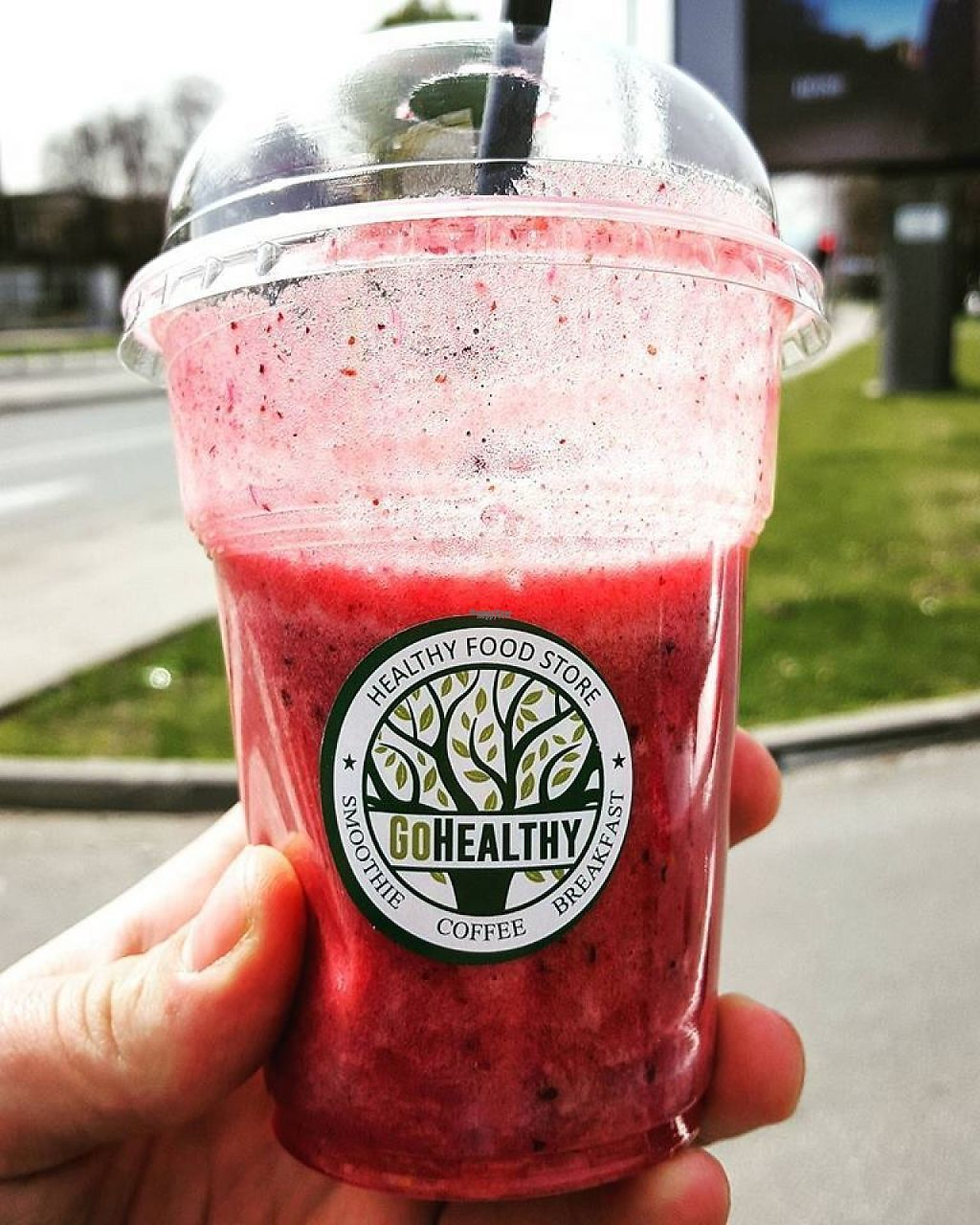 """Photo of GO Healthy  by <a href=""""/members/profile/sammy85"""">sammy85</a> <br/>Smoothie with berries <br/> March 31, 2017  - <a href='/contact/abuse/image/71131/242945'>Report</a>"""