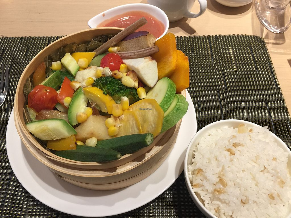 "Photo of Orchid Veggie  by <a href=""/members/profile/ChristineAY"">ChristineAY</a> <br/>Delightful lunch set  <br/> November 3, 2017  - <a href='/contact/abuse/image/71162/321439'>Report</a>"