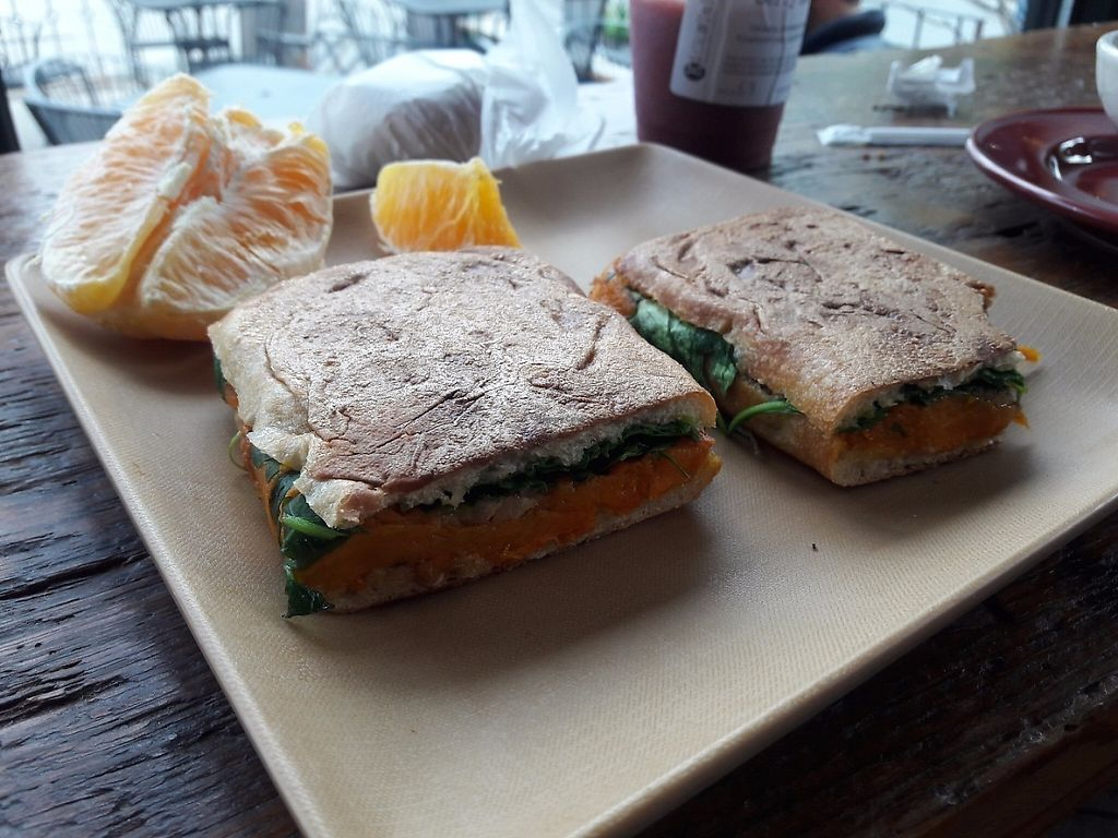 """Photo of Kickstand Cafe  by <a href=""""/members/profile/Paprika"""">Paprika</a> <br/>kabocha squash sandwich :) <br/> May 11, 2017  - <a href='/contact/abuse/image/71185/257708'>Report</a>"""