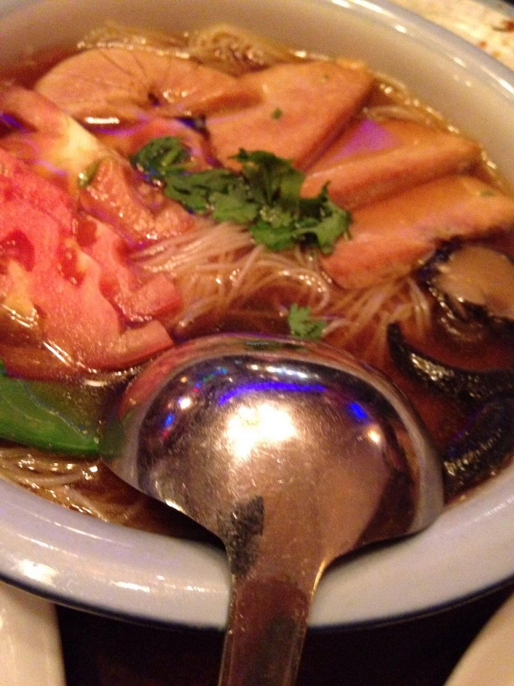 """Photo of Su Xing House  by <a href=""""/members/profile/cookiem"""">cookiem</a> <br/>Vegetable rice noodle soup <br/> July 24, 2015  - <a href='/contact/abuse/image/7118/110765'>Report</a>"""