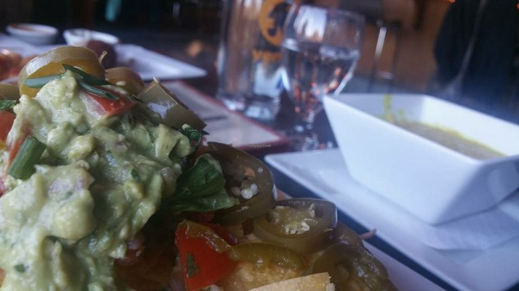 "Photo of Venti's Cafe and Taphouse  by <a href=""/members/profile/Arthousebill"">Arthousebill</a> <br/>Vegan nachos <br/> April 2, 2016  - <a href='/contact/abuse/image/71197/142443'>Report</a>"