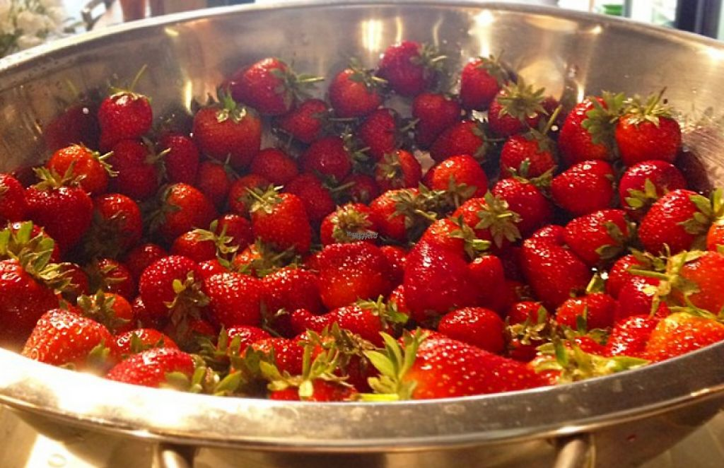 """Photo of Rafns'  Restaurant  by <a href=""""/members/profile/community"""">community</a> <br/>Strawberries <br/> March 21, 2017  - <a href='/contact/abuse/image/71199/239165'>Report</a>"""