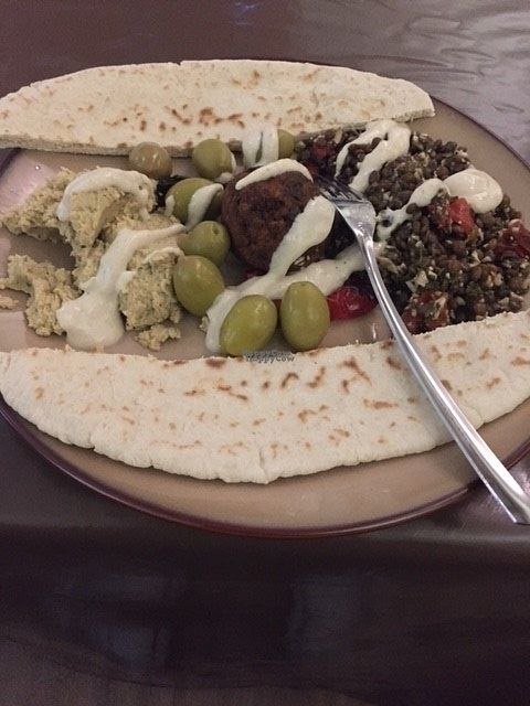 """Photo of Bonobo Cafe  by <a href=""""/members/profile/FionaT"""">FionaT</a> <br/>Hummus <br/> September 13, 2016  - <a href='/contact/abuse/image/71220/175461'>Report</a>"""