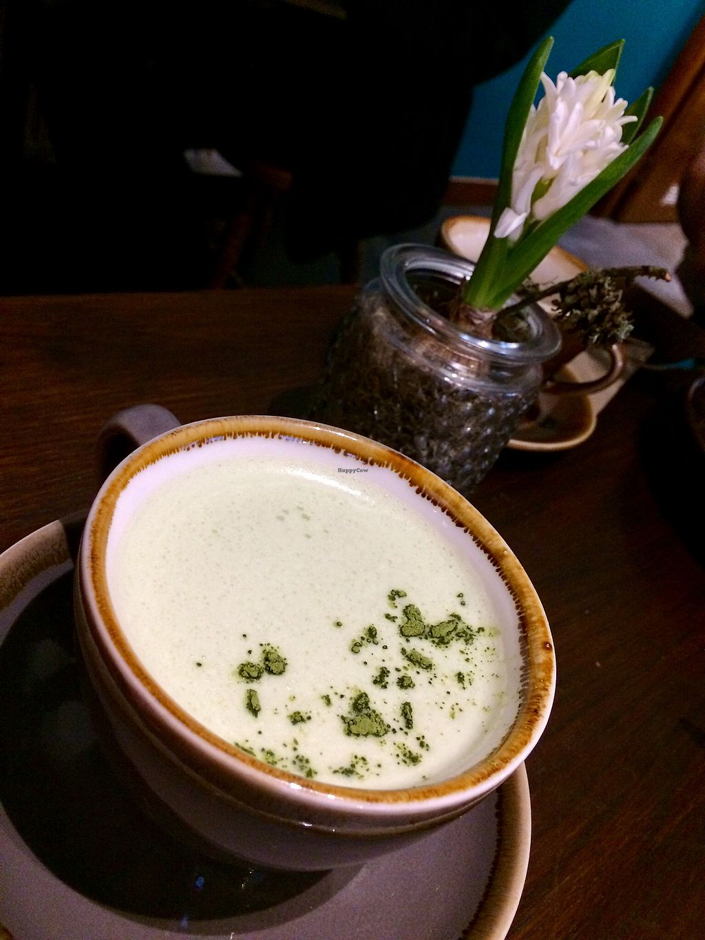 """Photo of Bonobo Cafe  by <a href=""""/members/profile/Chnanis"""">Chnanis</a> <br/>Matcha Latte <br/> January 13, 2018  - <a href='/contact/abuse/image/71220/346109'>Report</a>"""