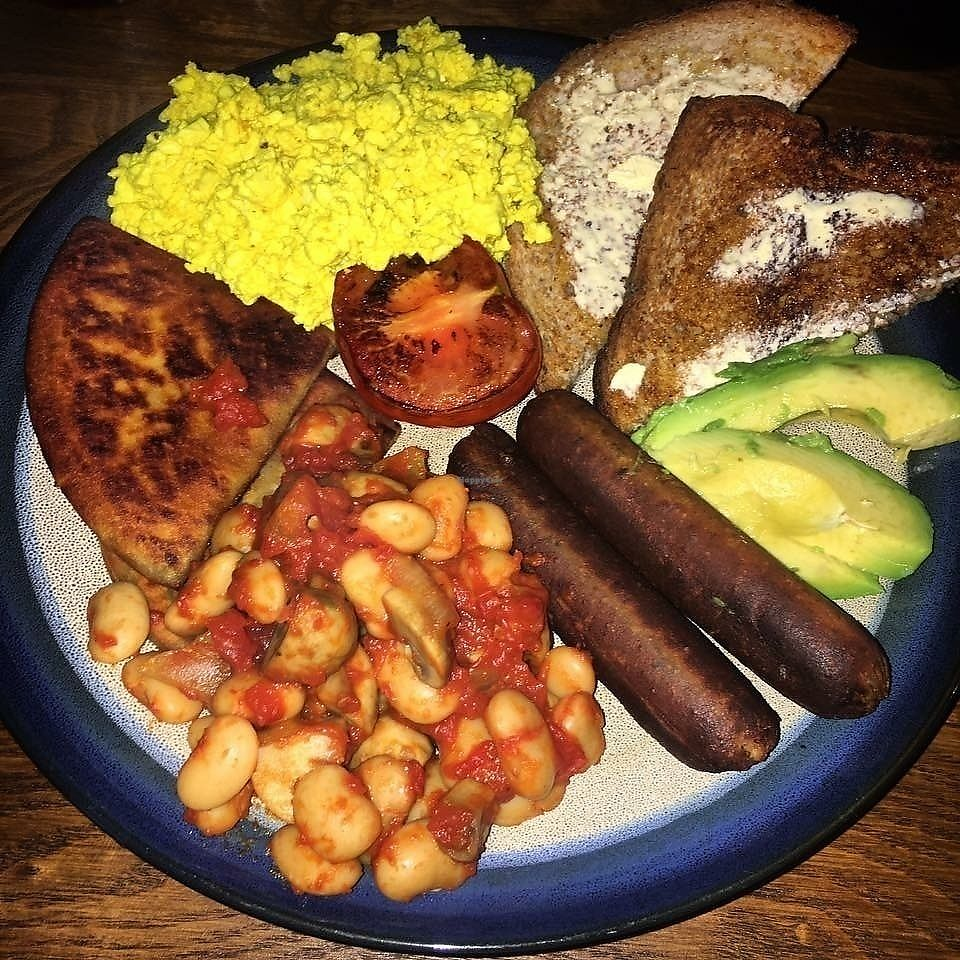 """Photo of Bonobo Cafe  by <a href=""""/members/profile/RachaelHope"""">RachaelHope</a> <br/>Full Scottish Breakfast  <br/> February 13, 2018  - <a href='/contact/abuse/image/71220/358646'>Report</a>"""