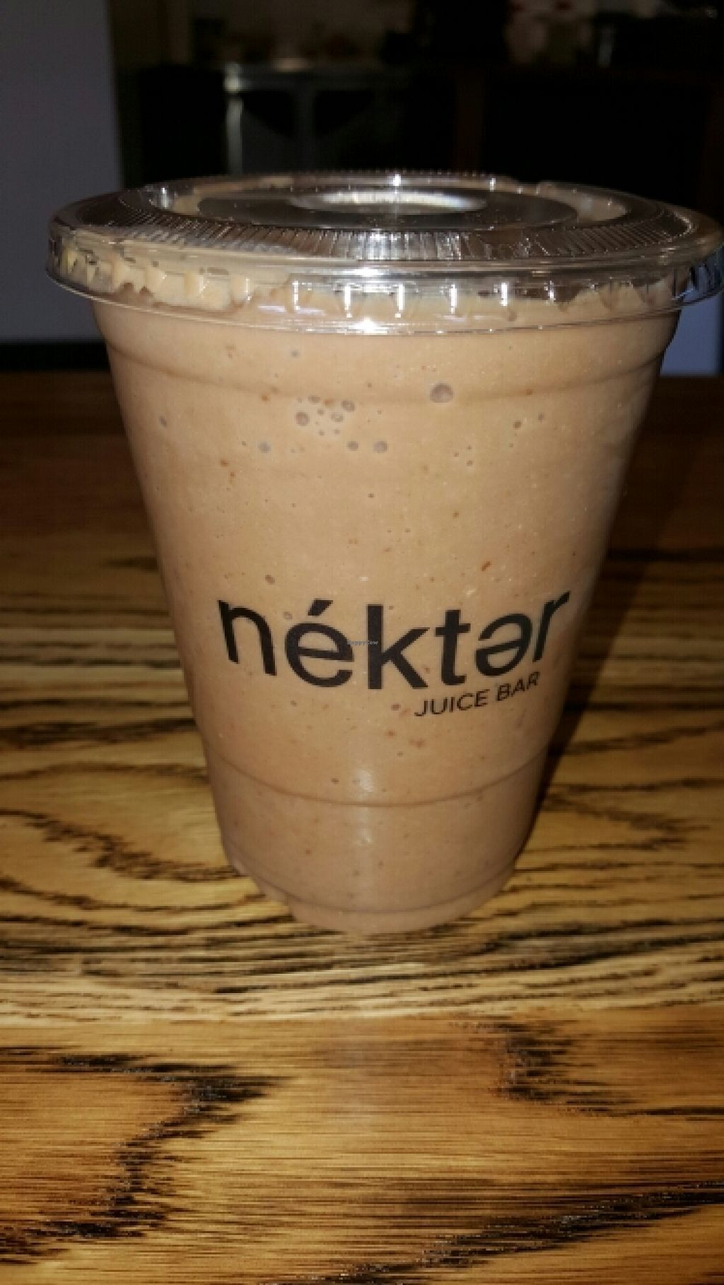 """Photo of Nekter Juice Bar  by <a href=""""/members/profile/VegManda"""">VegManda</a> <br/>Chocolate Dream Smoothie <br/> April 10, 2016  - <a href='/contact/abuse/image/71261/143821'>Report</a>"""