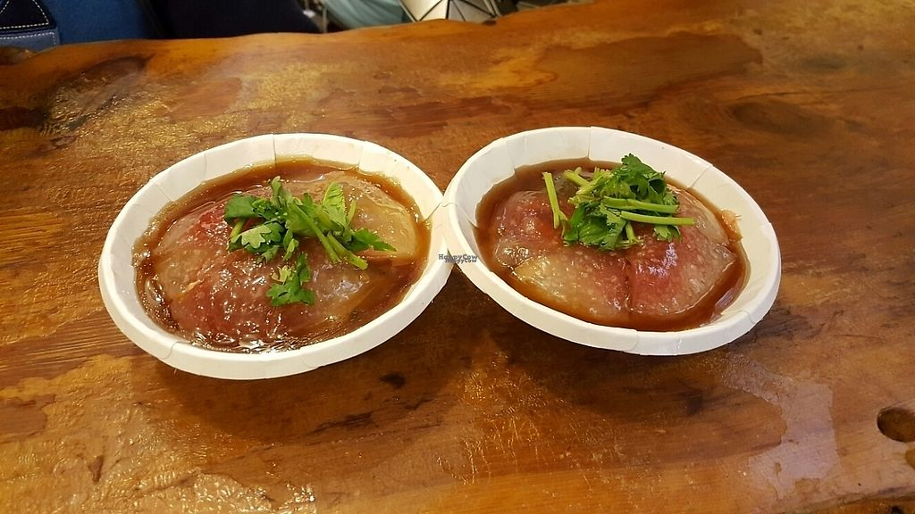 """Photo of Jinzhi  by <a href=""""/members/profile/Love%40Sunshine"""">Love@Sunshine</a> <br/>Their specialty, Vegetarian Red Vinasse Taiwanese Meatballs NT45 <br/> December 6, 2016  - <a href='/contact/abuse/image/71267/197782'>Report</a>"""