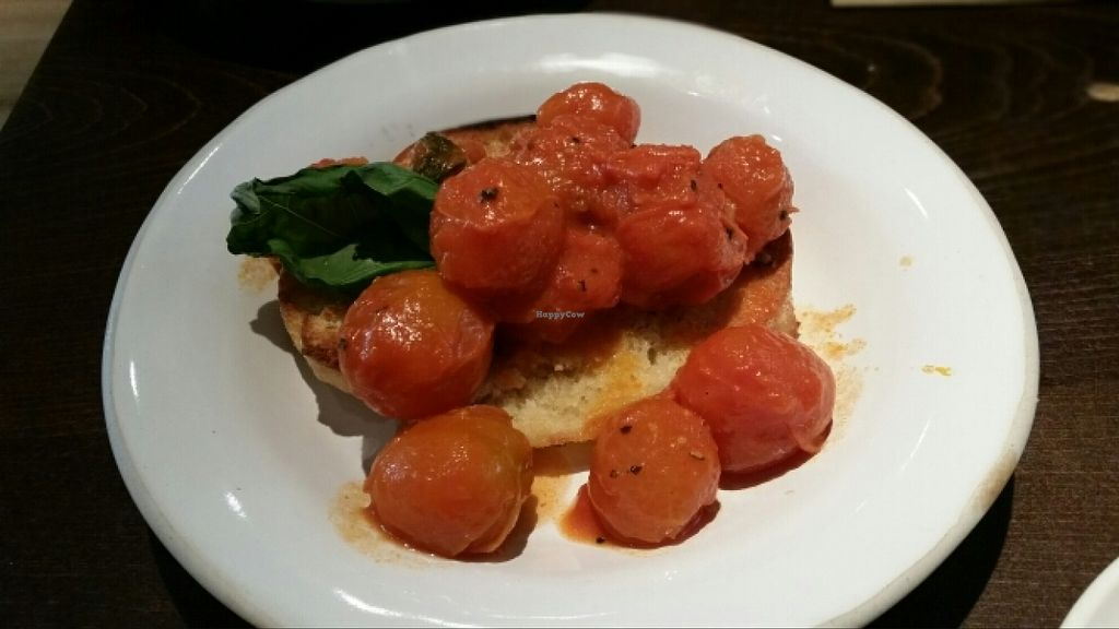 "Photo of Zizzi - High St  by <a href=""/members/profile/konlish"">konlish</a> <br/>Bruscetta with tomatoes  <br/> March 23, 2016  - <a href='/contact/abuse/image/71288/141032'>Report</a>"