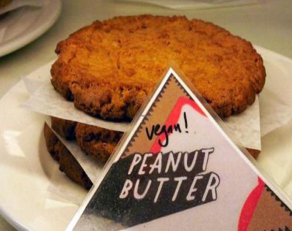 """Photo of Marie Catrib's  by <a href=""""/members/profile/happycowgirl"""">happycowgirl</a> <br/>vegan peanut butter cookies <br/> October 10, 2011  - <a href='/contact/abuse/image/7129/192021'>Report</a>"""