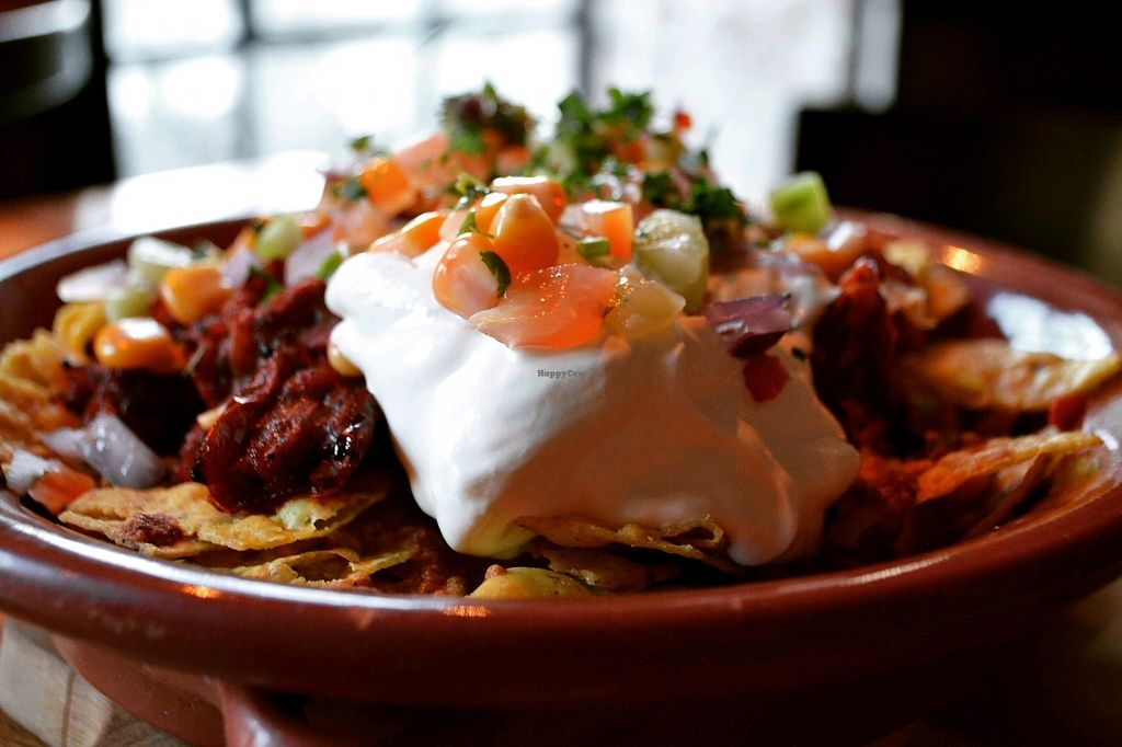 """Photo of Smelteverket  by <a href=""""/members/profile/IdaArchimedesBaron"""">IdaArchimedesBaron</a> <br/>veg nachos, with bean mix <br/> December 3, 2017  - <a href='/contact/abuse/image/71301/331917'>Report</a>"""