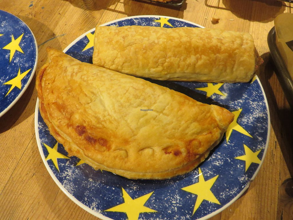"""Photo of Haworth Wholefoods  by <a href=""""/members/profile/HaworthWholefoods"""">HaworthWholefoods</a> <br/>Our speciality - delicious Pennine Pasties - lots of varieties, all vegan <br/> June 28, 2017  - <a href='/contact/abuse/image/71351/274505'>Report</a>"""