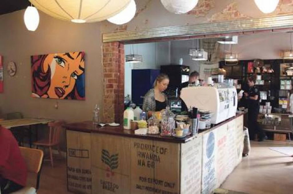 "Photo of Carnevale Coffee Roasters  by <a href=""/members/profile/Tally"">Tally</a> <br/>inside of building <br/> March 27, 2016  - <a href='/contact/abuse/image/71440/141538'>Report</a>"