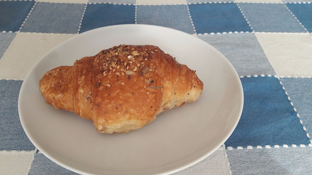 """Photo of Dulcamara Bio Vegan Bistrot  by <a href=""""/members/profile/jennyc32"""">jennyc32</a> <br/>Apricot croissant <br/> August 2, 2017  - <a href='/contact/abuse/image/71447/288004'>Report</a>"""