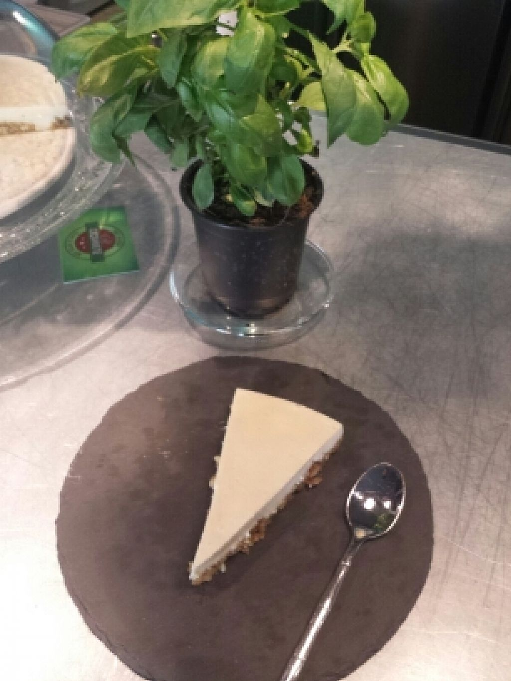 "Photo of Cafe Cacahuete  by <a href=""/members/profile/carinaini"">carinaini</a> <br/>vegan cheesecake  <br/> May 18, 2016  - <a href='/contact/abuse/image/71489/149603'>Report</a>"