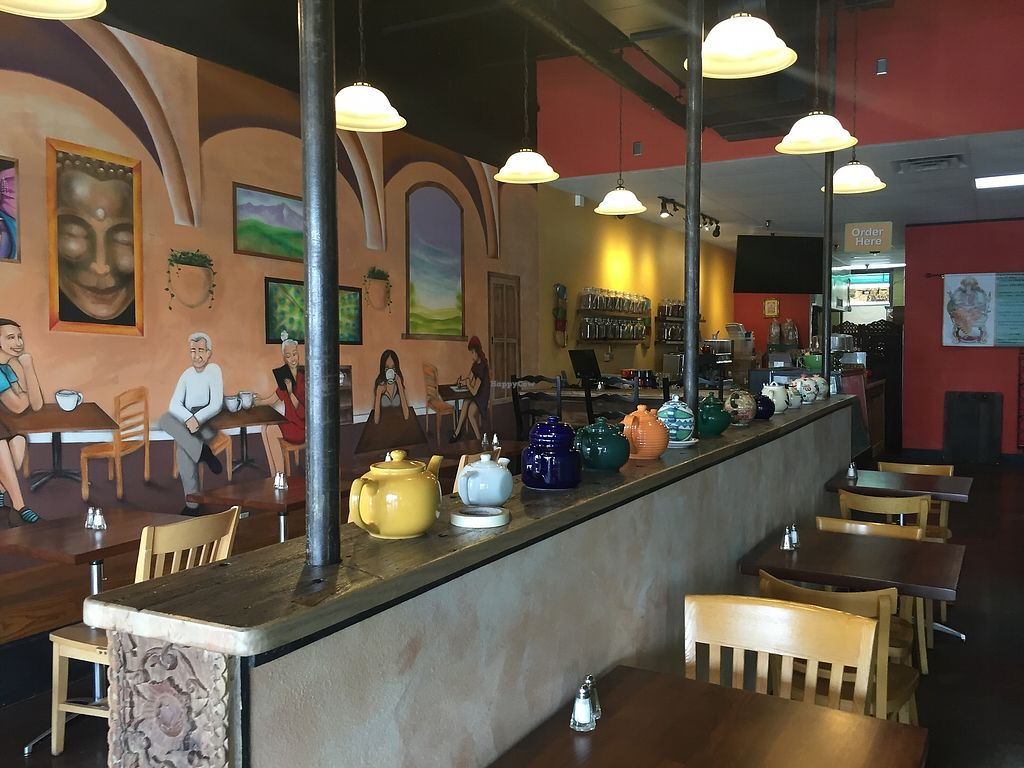 """Photo of Annapurna's World Vegetarian Cafe - The Promenade Shopping Center  by <a href=""""/members/profile/Motts10"""">Motts10</a> <br/>Inside Restaurant <br/> August 29, 2017  - <a href='/contact/abuse/image/71492/298763'>Report</a>"""